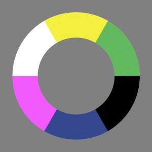 Unordentlicher Farbenkreis Nr.2