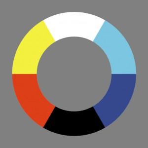 Unordentlicher Farbenkreis Nr.3